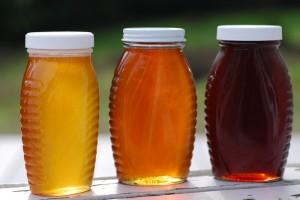 Colors of honey